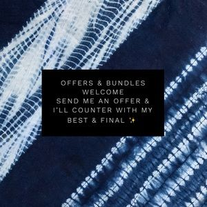 Offers & Bundles Welcome ✨